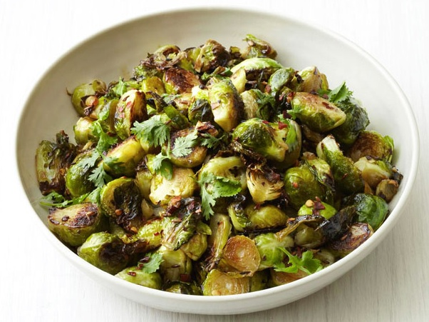 Brussels Sprouts with Toasted Walnuts & Lemon
