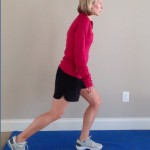 Exercise – Reverse Slide Lunge
